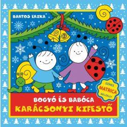 Bartos Erika - Bogyó és Babócsa karácsonyi kifestő